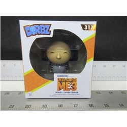 New Despicable Me-3 Dorbz # 317  GRU Collectible / sealed box