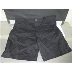 "1 New pair Mens black Shorts 38"" waist"