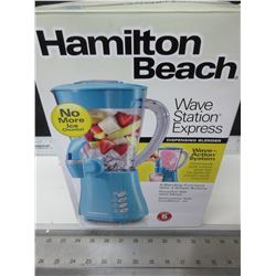 Hamilton Beach Dispensing Blender  / wave station express / 9 functions