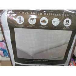 New Twin Cool Touch Mattress Pad