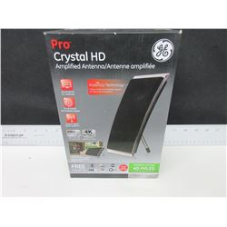 New GE Pro Crystal HD Amplified Antenna full HD 1080P 4K Ultra HD