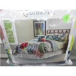 New Full 8 piece Complete Bed Set / Comforter , Shams , Sheets , Pillows