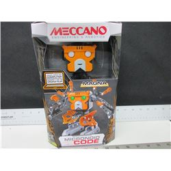 Meccano Micronoid Code / Magna / program through your computor