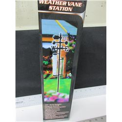 "New 5 function Weather Vane Station / 56"" high"