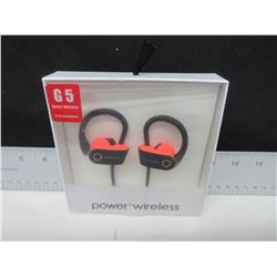 New G5 Sport Wireless Power 3 Bluetooth Headphones with Mic & more