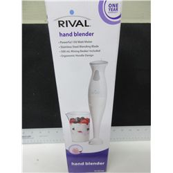 New Hand Blender / stainless blade / chops , purees , minces and blends