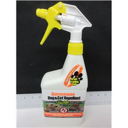 Liquid Fence Dog & Cat Repellent/ STOP bad habits like cats in flower beds