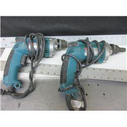 2 Makita Screw Guns both working good / model# 6827