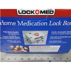 Lock + Med home Medication Lockbox