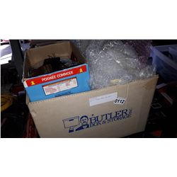 BOX OF BUBBLE WRAP AND BAGS