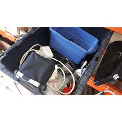TOTE OF POWER BARS EXTENTION CORDS AND MORE