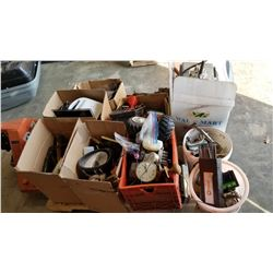 PALLET OF TOOLS AND ESTATE GOODS