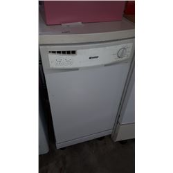 KENMORE ROLLING DISHWASHER WITH COUNTERTOP