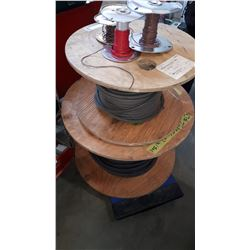 SPOOL OF CABLE AND WIRE