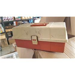PLANO TACKLE BOX W/ CONTENTS