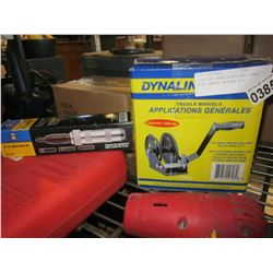 DYNALINE HAND WINCH AND POWER FIST IMPACT DRIVER KIT