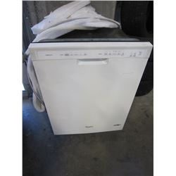 WHITE BUILT IN WHIRLPOOL GOLD SERIES DISHWASHER