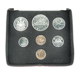 1975 Canada Coin Set.