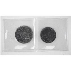 Lot of (2) Vatican Coins.