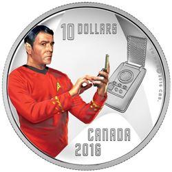 2016 $10 Star TrekTM: Scotty - Pure Silver Coin. I
