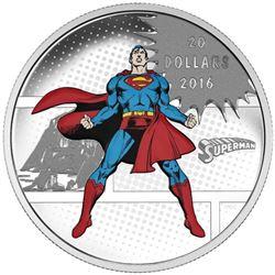 2016 $20 DC COMICS Originals: The Man of Steel - P