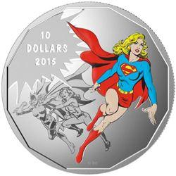 2015 $10 Fine Silver Coin - DC Comics Unity Solida