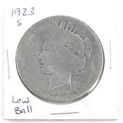 1923 S Liberty Silver Dollar Low Ball