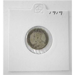 Canada 1919 Silver 10c.