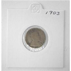 Canada 1903 Silver 10c.