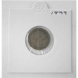 Canada 1899 Silver 10c.