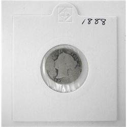 Canada 1888 Silver 10c.