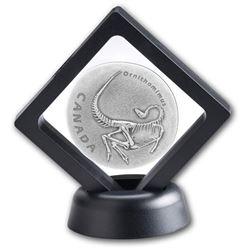 Pure Silver Coin - Ancient Canada: Ornithomimus wi