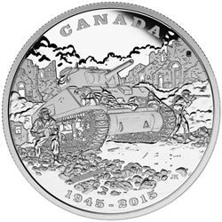 RCM .999 Fine Silver $20.00 Coin 'The Italian Camp