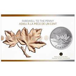 2012 $20 for $20 Farewell To The Penny - Pure Silv