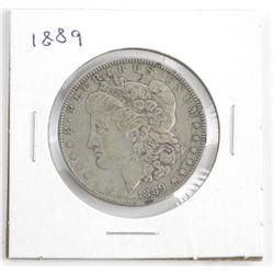 1889 Silver USA Morgan Dollar
