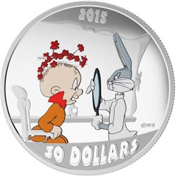 RCM / Warner Bros 'Looney Tunes' $30.00 Coin .9999