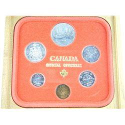 1980 Canada Coin Set.