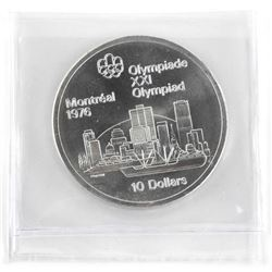 1976 Olympic $10.00 Silver
