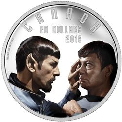 2016 $20 Star TrekTM: Mirror Mirror - Pure Silver