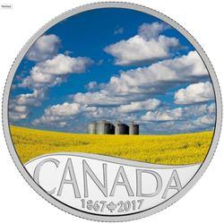 2017 $10 Celebrating Canada's 150th: Canola Field