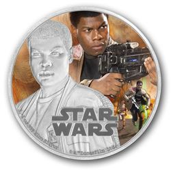 Fine Silver Coloured Coin äóñ Star Wars: The Force