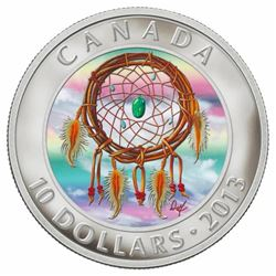 2013 $10 Dreamcatcher - Pure Silver Coin