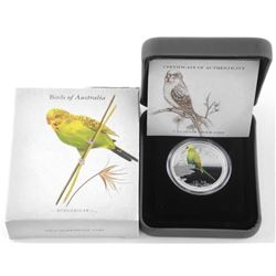 'Perth' Birds of Australia 'Budgerigar' .9999 Fine