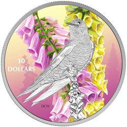 2017 $10 Birds Among Nature's Colours: Purple Mart