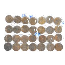 Estate lot - (21) 1932 KING George One Cent
