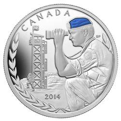 2014 $20 Canadian Peacekeeping in Cyprus, 50th Ann