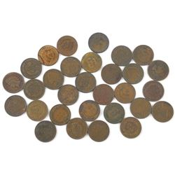 Lot (30) USA Indian Head Pennies