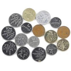 Estate Bag Lot Coins of Iceland