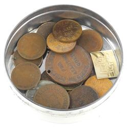 Estate Lot - Coins in 'OFREX' Vintage Tinξ