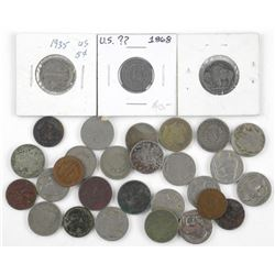 Estate Lot USA - Buffalo and Indian Head 5 Cents